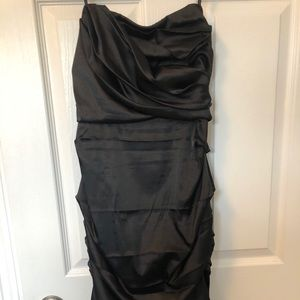 LeChateau NWOT black formal dress
